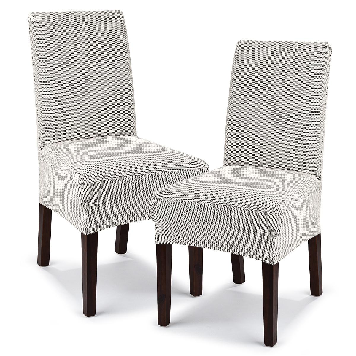 4Home Pokrowiec multielastyczny na krzesło Comfort cream, 40 - 50 cm, 2 szt.