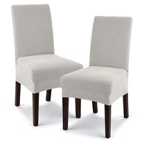 4Home Comfort multielasztikus székhuzat,cream, 40 - 50 cm, 2 db-os szett