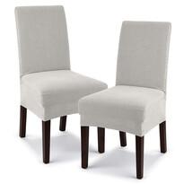 4Home Husă elastică scaun Comfort cream, 40 - 50 cm, set 2 buc