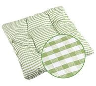 Sedák Adéla zelená kostička, 40 x 40 cm, 2 ks