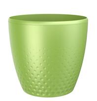 Osłonka plastikowa na doniczkę Perła 25 cm zielony