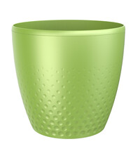Plastový obal na kvetináč Perla 25 cm, zelená