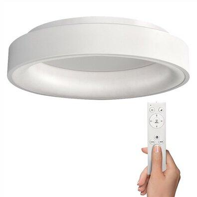Solight WO768-W stropné LED osvetlenie Treviso s diaľkovým ovládaní, biela