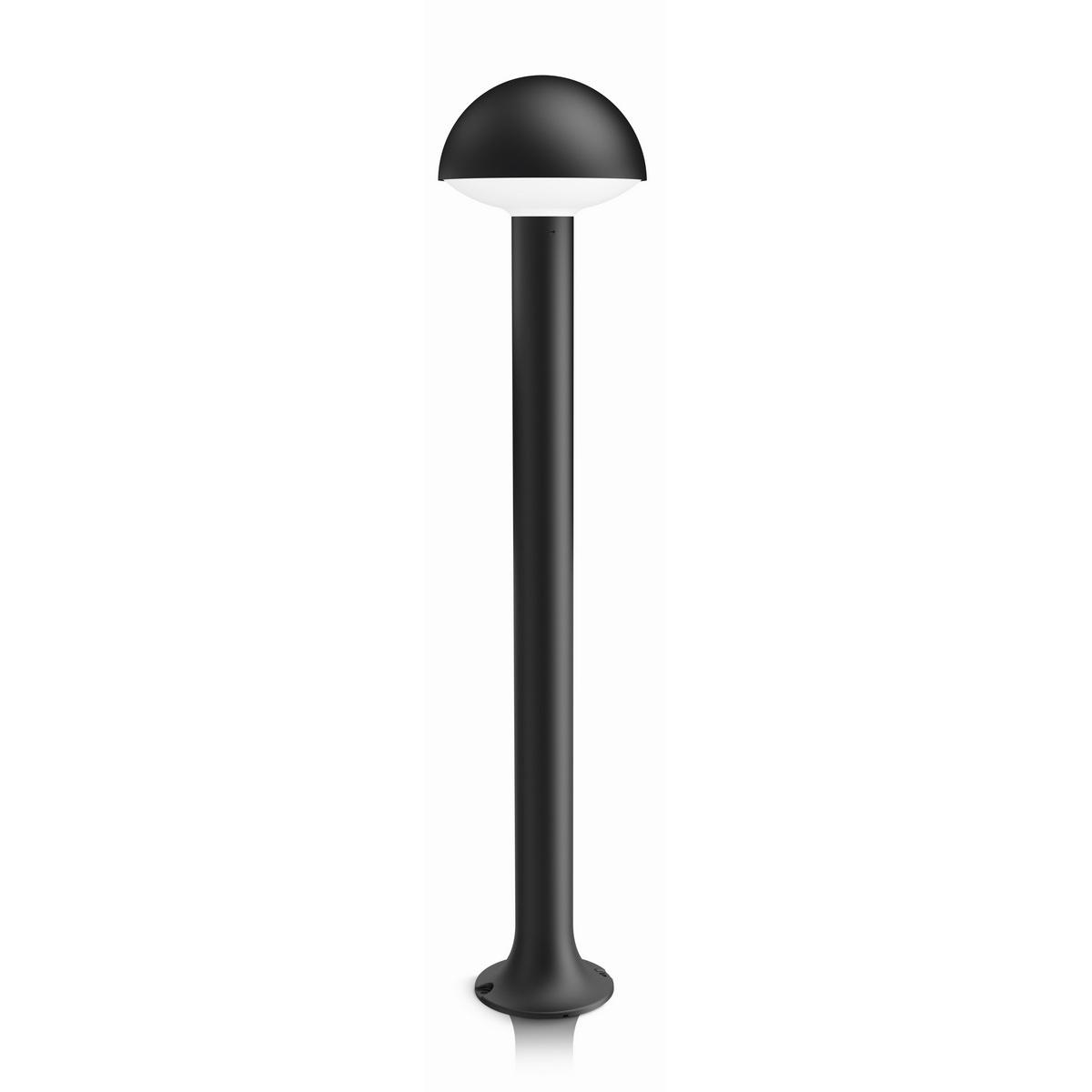 Philips 16408/93/16 Dust Vonkajšie stĺpikové LED svietidlo 76 cm, antracit