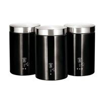 Berlinger Haus 3-częściowy komplet pojemników Royal Black Collection