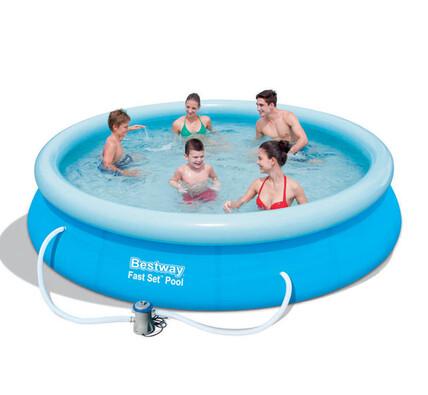 Bestway Bazén samostavěcí 366 x 76 s filtrem