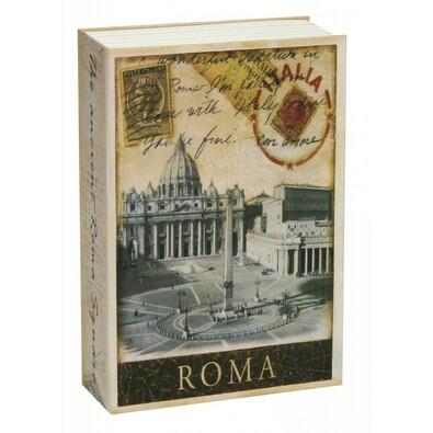 Kniha sejf Roma