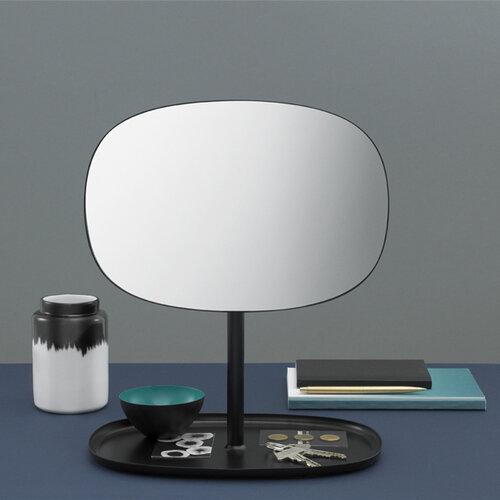 Zrkadlo Flip Mirror čierne