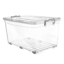 Orion Plastový úložný box na kolieskach, 40 l