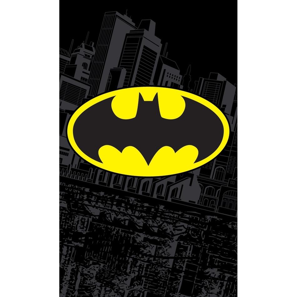 Batman gyermek törölköző, 30 x 50 cm