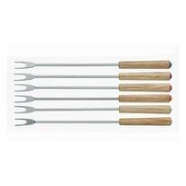 Set 6 piese furculițe fondue Kela BERGAMO,lemn