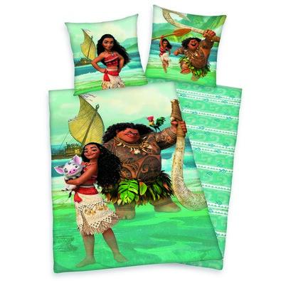 Detské bavlnené obliečky Odvážna Vaiana, 140 x 200 cm, 70 x 90 cm