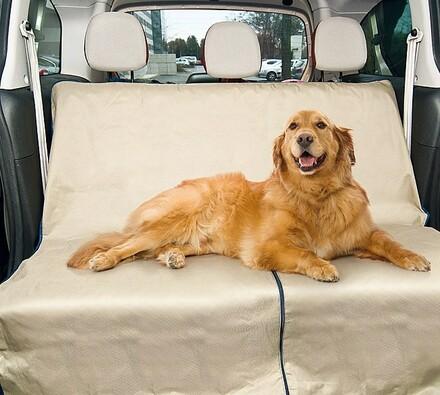 Pet Zoom Loungee - speciální deka do auta, béžová