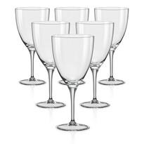 Crystalex 6-częściowy komplet kieliszków na wino KATE, 400 ml