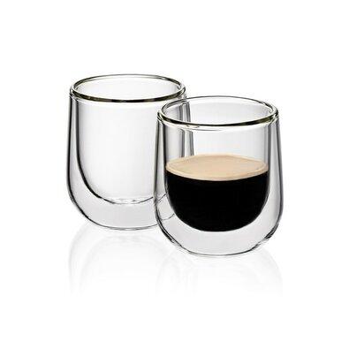 Kela Sklenice na espresso FONTANA 60 ml, 2 ks