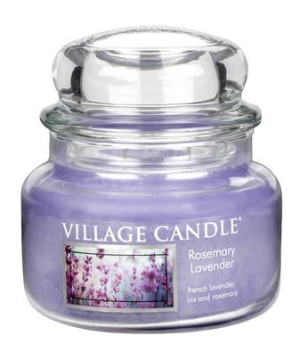 Village Candle Vonná svíčka Rozmarýn a levandule  - Rosemary Lavender, 269 g