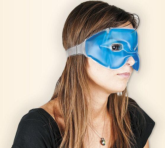 Gélová maska na oči