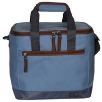 Chladiaca taška Oxford 15 l, modrá, 25 x 25,5 x 20,5 cm