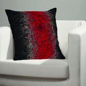Povlak na polštářek Seoul červená, 50 x 50 cm
