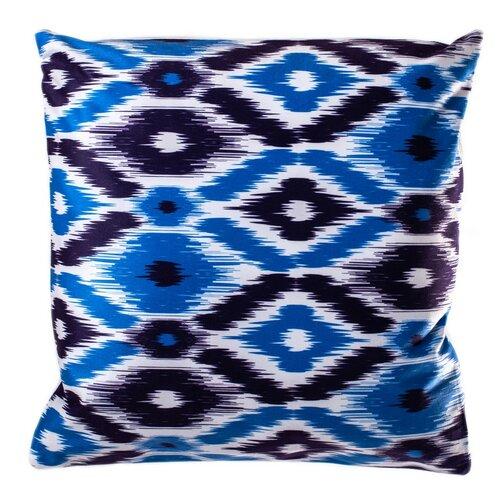 Povlak na polštářek Azték modrá, 40 x 40 cm