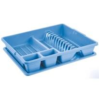Tontarelli Odkapávač na nádobí 47 x 38 x 8,5 cm, světle modrá