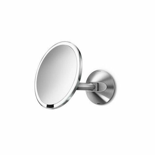Simplehuman Nástenné dobíjacie zrkadlo Sensor pr. 20 cm