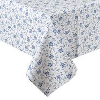 Față de masă vinil Floare albastru, 140 x 160 cm