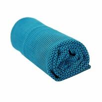 Chladící ručník modrá, 90 x 32 cm