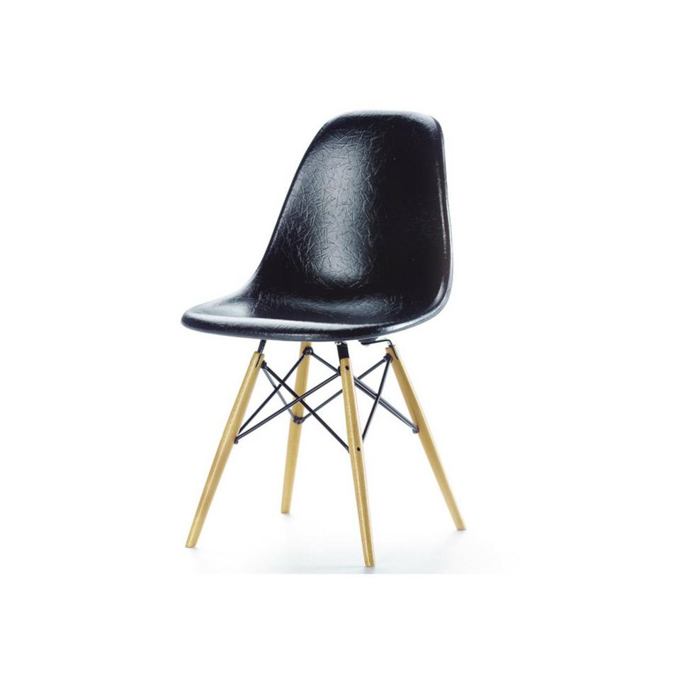 VItra Miniatúra stoličky DSW 13,5 cm, čierna
