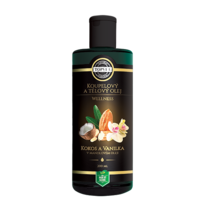 Topvet Koupelový a tělový olej kokos a vanilka v mandlovém oleji