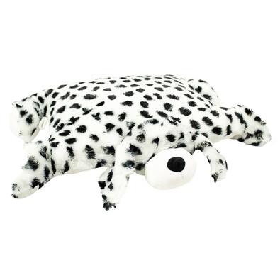 Polštářek Dalmatin s knoflíkem velký, 55 x 75 cm