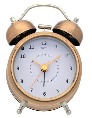 Nextime Wake Up 5111co analgový budík 12cm,