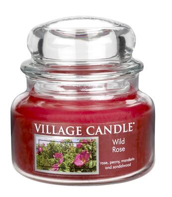 Village Candle Vonná svíčka Divoká růže - Wild Rose, 269 g