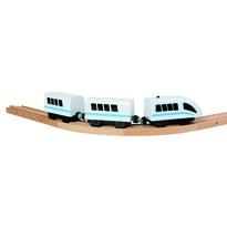 Tren de viteză Bino, cu baterii, 35 cm