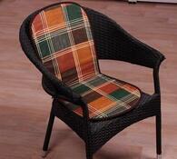 Sedáky na židle Liliana, oranžová