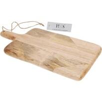 Koopman Dřevěné krájecí prkénko s úchytem