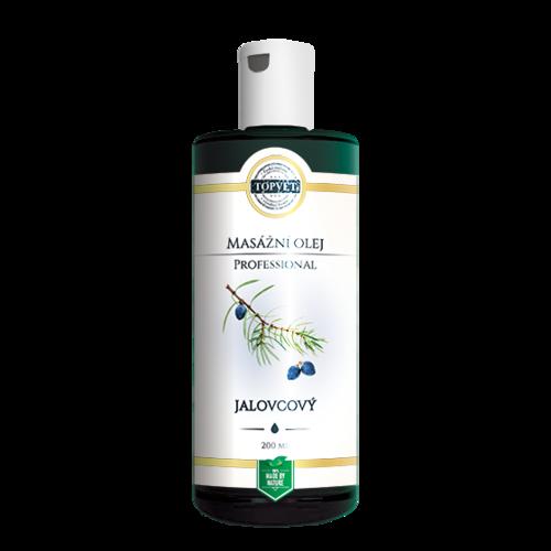 Topvet Masážní olej jalovcový 200 ml