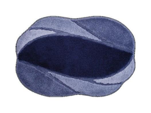 Koupelnová předložka Grund REGENT tmavě modrá, 60 x 90 cm