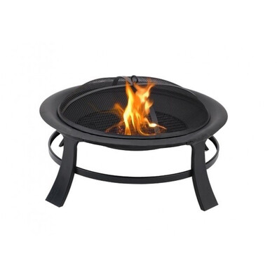 Záhradné ohnisko prenosné okrúhle, 76 cm