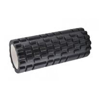 Fitness masážny valec čierna, 34 x 14 cm