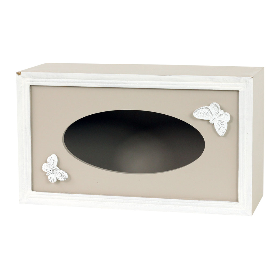 Produktové foto Box na kapesníky Papillon, 24,5 cm