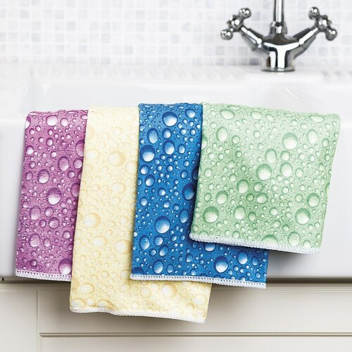 Utierka z mikrovlákna Colour Bubbles multicolor
