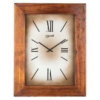 Lowell 03500B Designové nástěnné hodiny 44  x 34 cm