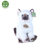 Pisică pluș Rappa Siameză, 25 cm