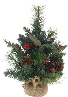 Vánoční stromeček zdobený 33 cm