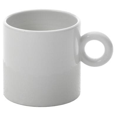 Mokka šálek Dressed 70 ml, bílý