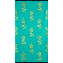 Plážová osuška Pineapple, 90 x 170 cm