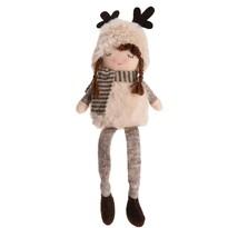 Vianočná dekorácia Huddled girl, 40 cm