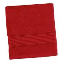 Ręcznik Kamilka Pasek czerwony