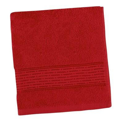 Uterák Kamilka Prúžok červená, 50 x 100 cm